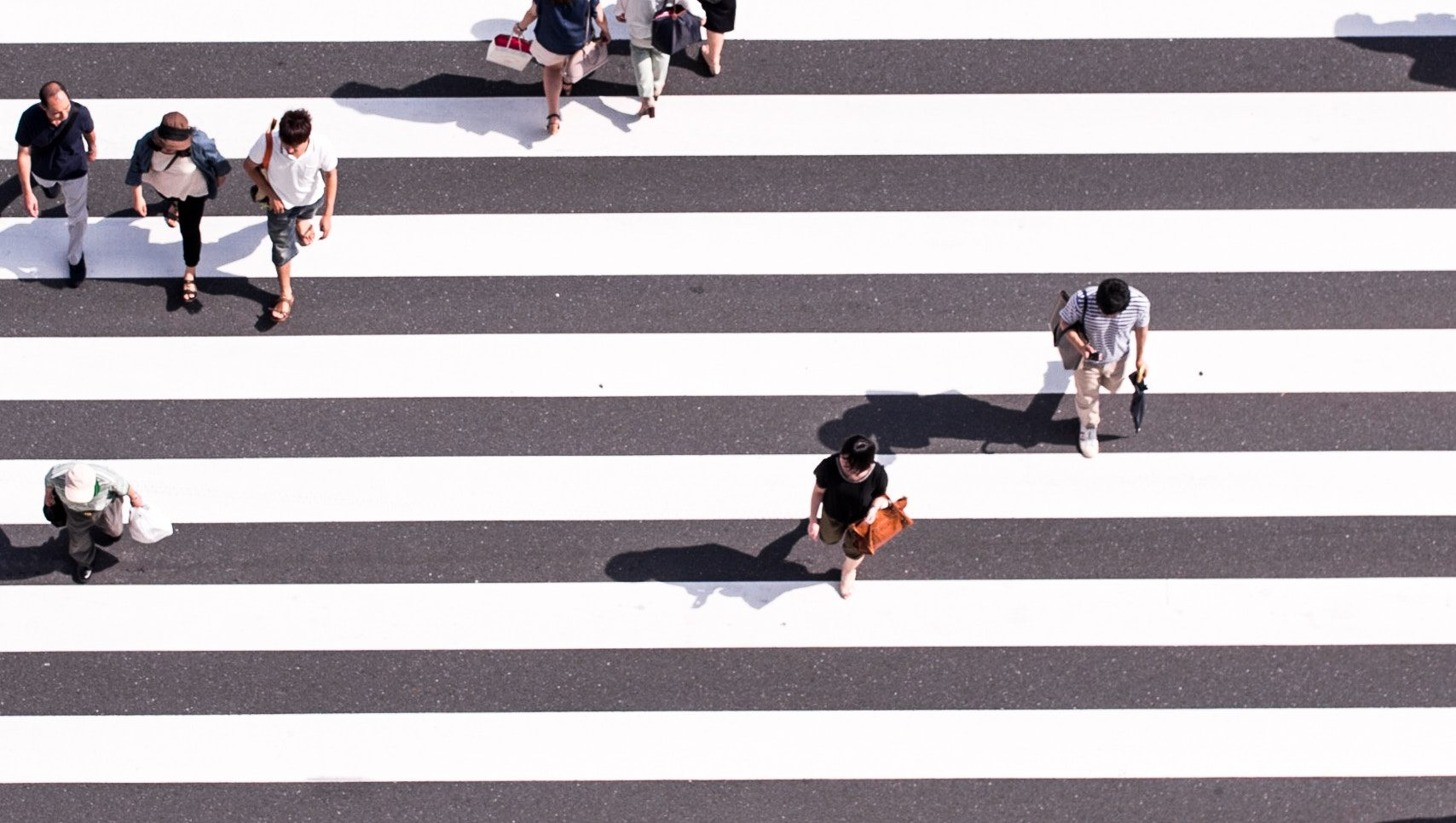 横断歩道の写真